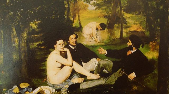 Eduard Manet's 'Luncheon On The Grass'