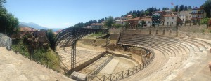 roman theatre in ohrid