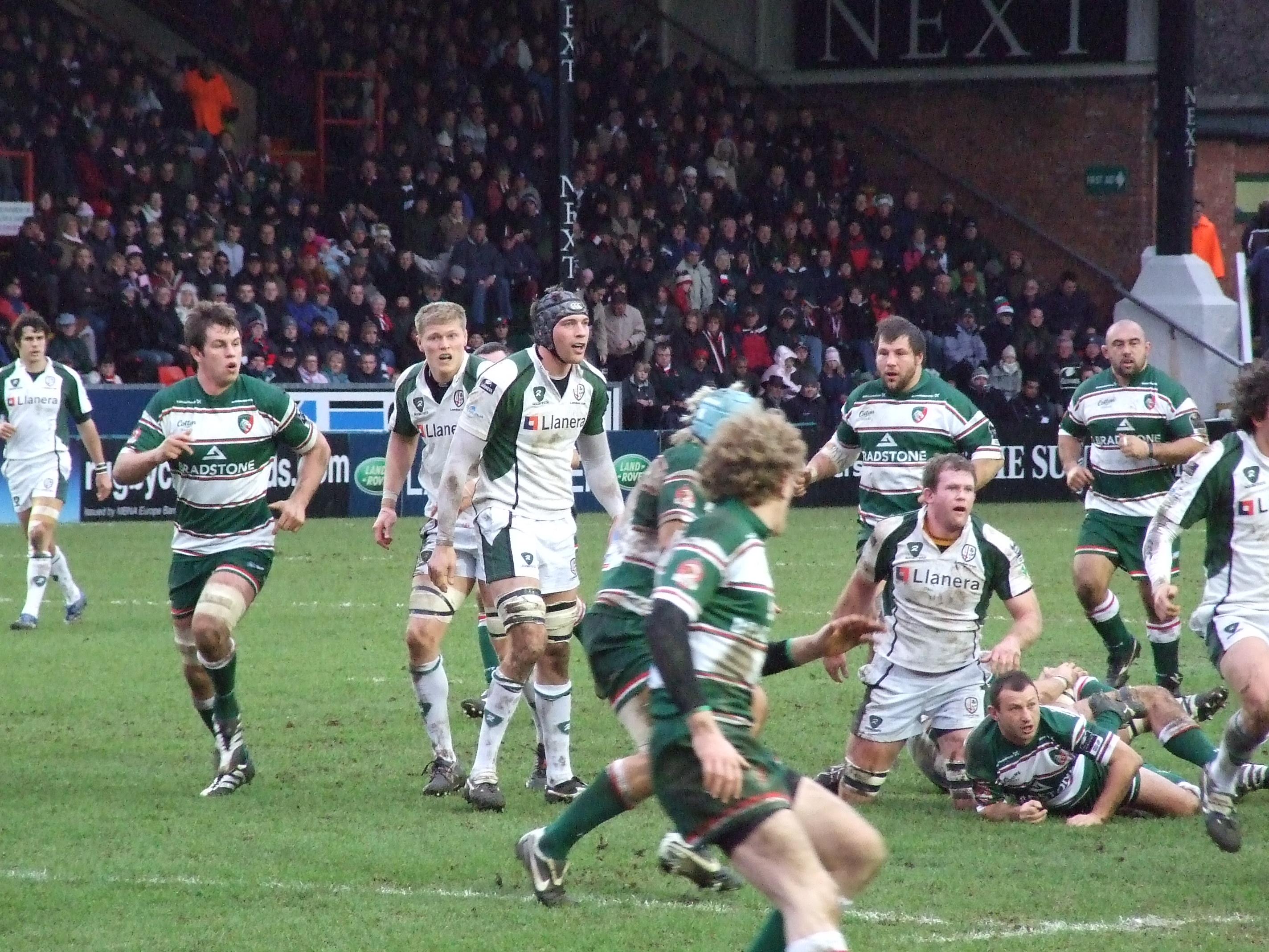 London Irish show their talent against Leicester.