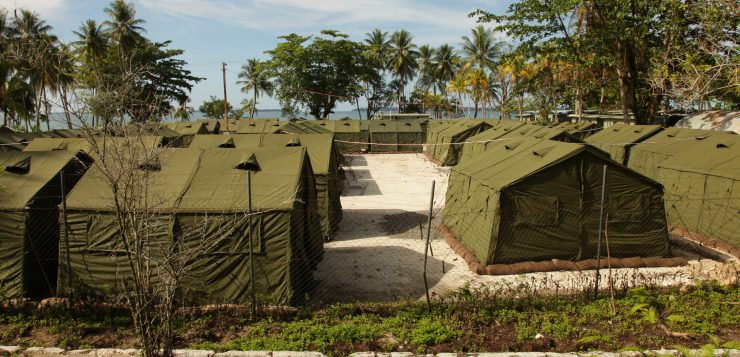Manus Island Processing Centre (Wikimedia Commons)