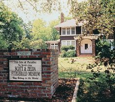 F. Scott Fitzgerald's House in Alabama.