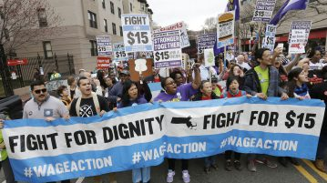 Low Wage Protest