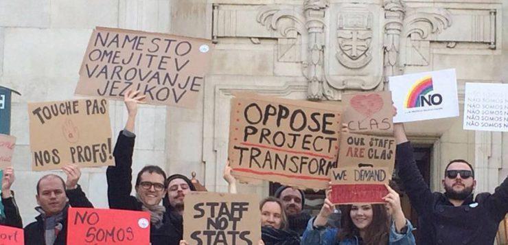 Image: Resist Restructuring Nottingham (via Facebook)