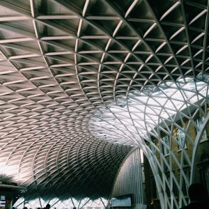 Credit: Farihah Choudhury Ceiling at King's Cross