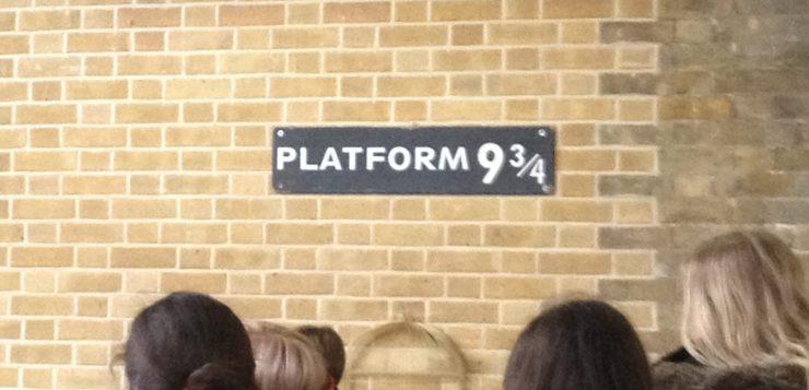 Credit: Farihah Choudhury Platform 9 and 3/4 King's Cross