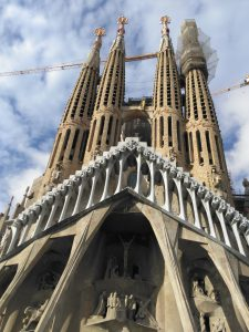 The stunning La Sagrada Familia. Source: Mark Marsden.
