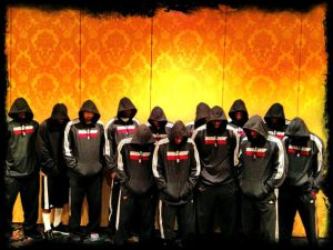 Miami Heat's Trayvon Martin tribute (Photo: LeBron James via Twitter)