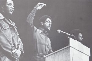 Co-founder of The Black Panther Party, Bobby Seale at a Freedom Rally