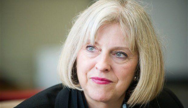 Theresa May. Photo Credit - cfoi.co.uk.