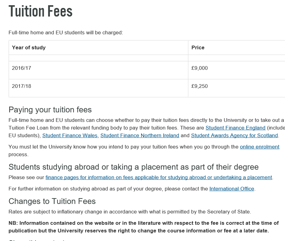 tuition fees in british universities essay Supporting details: cost of tuition fees in foreign universities is higher than in local universities studying in local universities need to spend about forty to fifty thousand ringgit whereas studying in foreign universities, we need to spend a few hundred thousand ringgit.