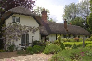Blyton's 'Thatch Cottage' in Bourne End, Buckinghamshire (BBC)