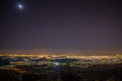Belo Horizonte at night (Robert Miguel / Wikimedia Commons)
