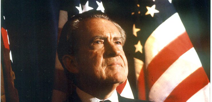 Richard Nixon in 1986 (Image: Nancy Wong/Wikimedia Commons)