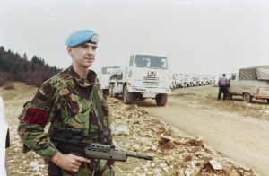British Peacekeeper in Yugoslavia - Wikimedia Commons