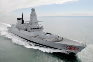 A Royal Navy Destroyer - Wikimedia Commons
