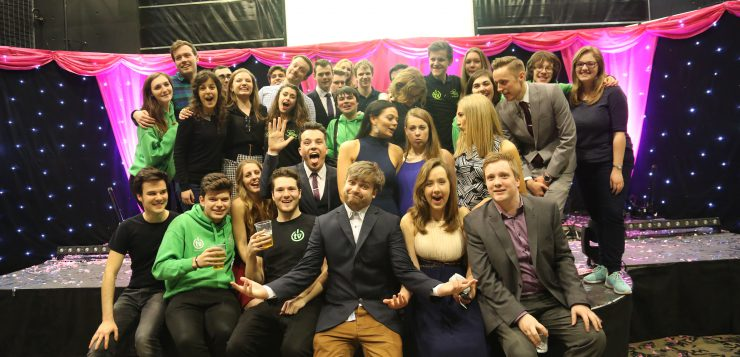 SUSUtv at Elections Night Live, one of their biggest productions of the year (Credit: SUSUtv)