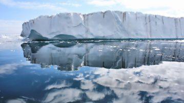 Greenland's Ice Sheets, photo by Christine Zenino.