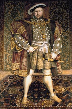 Henry VIII by Hans Holbien. Image: hansholbienhenryviii.com.