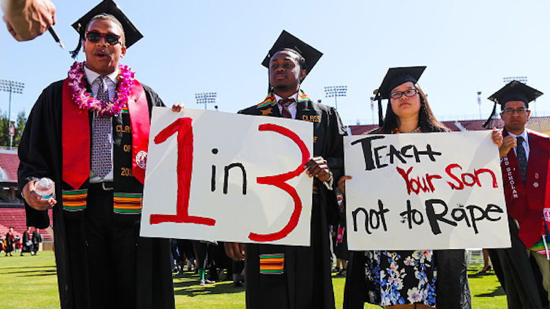 A poignant message from Stanford students. Image: jezebel.com