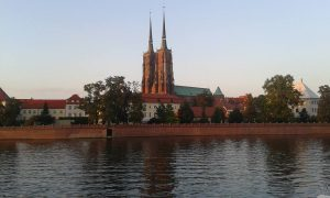 The Cathedral by the River Oder