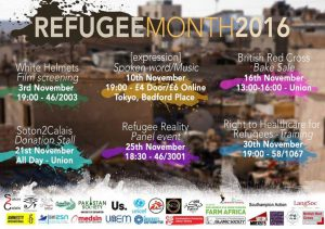 Southampton Refugee Month information.