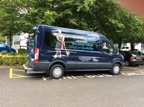 The current WSA Shuttle Bus | Credit: Union Southampton