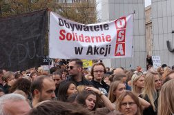 Save the Women protesting in Warsaw on October 1st