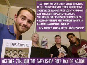 Source: Southampton University Labour Society.