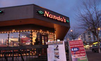 Nando's Opens in West Quay Leisure Centre