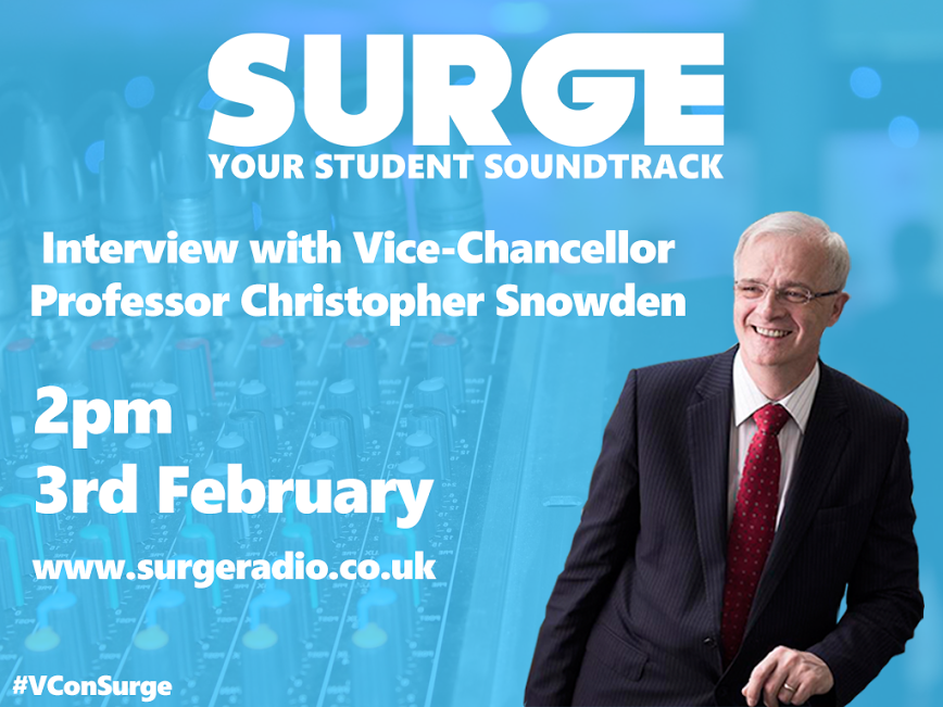 Now's Your Chance to Ask the Vice Chancellor a Question