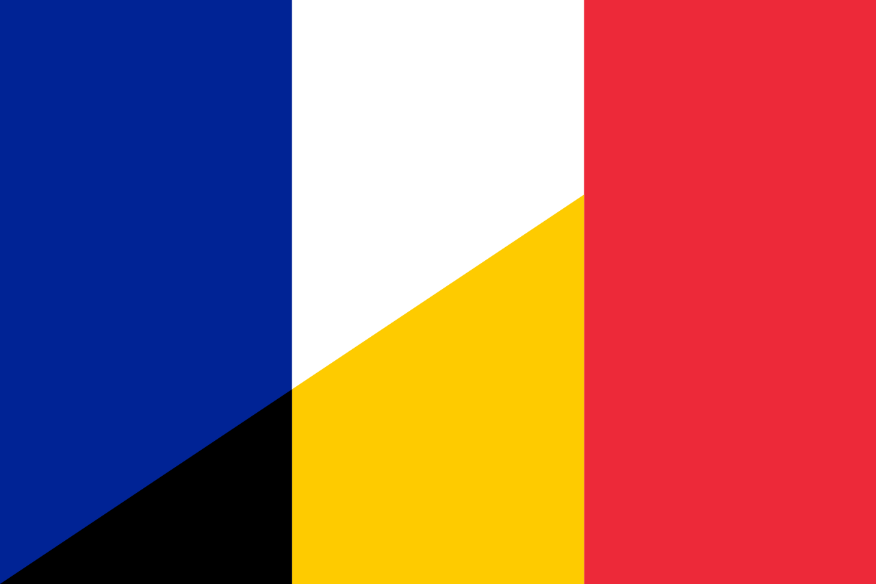What are the differences between belgium and france for Stand belgique