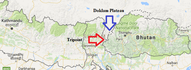 Bhutan Geographical Features