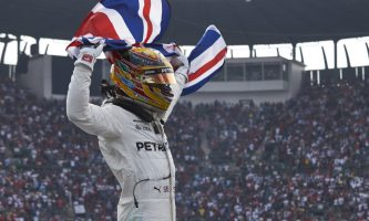 F1: Lewis Hamilton Wins Fourth World Title at the Mexican Grand Prix