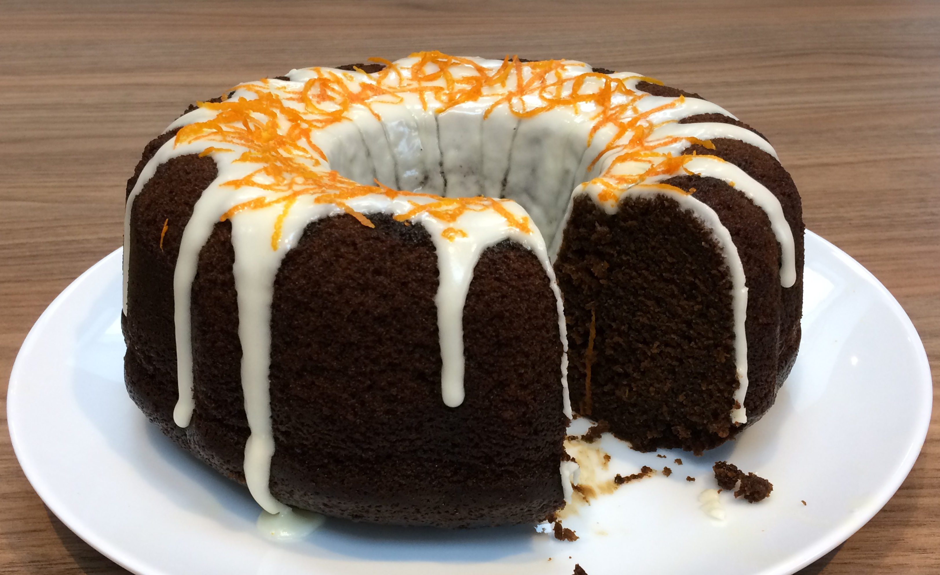 12 Bakes of Christmas 2017: Spiced Gingerbread Bundt Cake