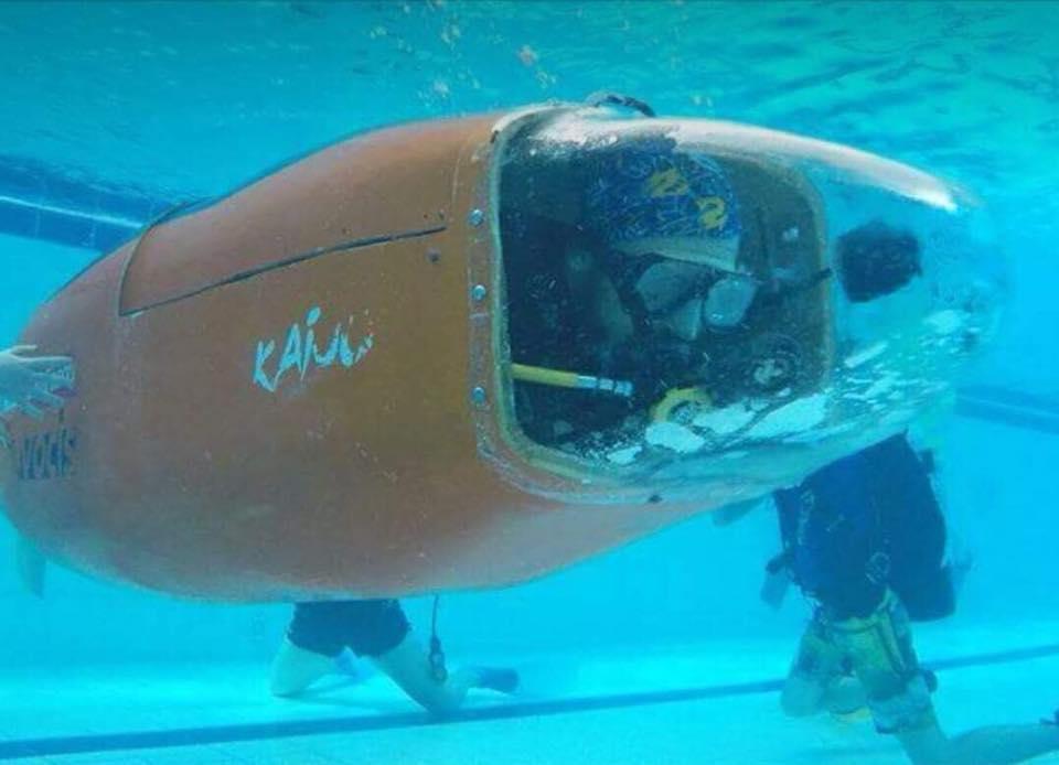 Society Spotlight The Southampton University Human Powered Submarine Society