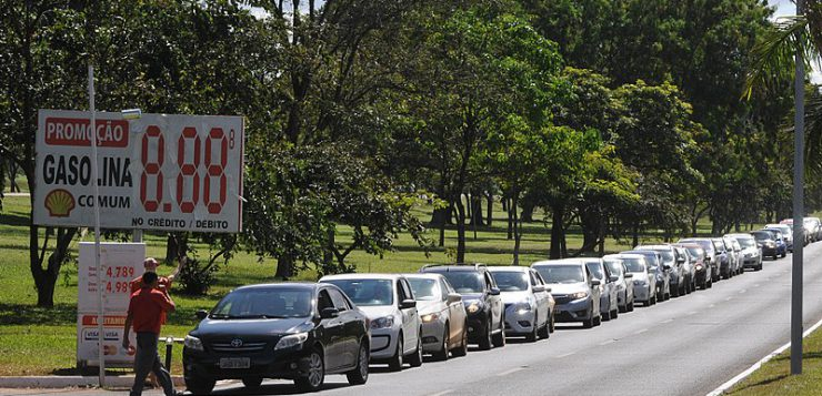 Brazil fuel strikes