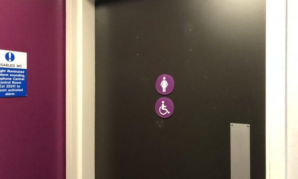 Transphobic Sticker Found in Union Building
