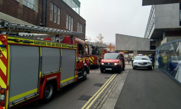 Fire Services Called to Building 13 on Highfield Campus
