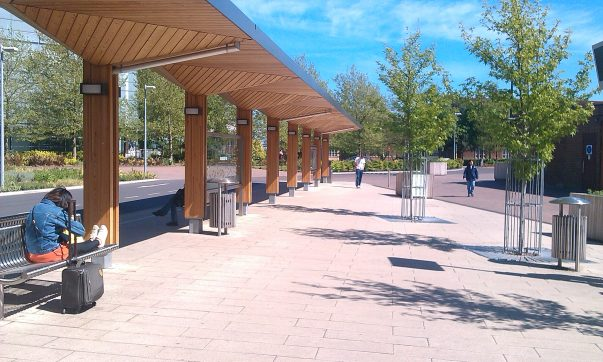 Improvements on Campus to Cause The Closure of Highfield Interchange And Pedestrian Pathways in January