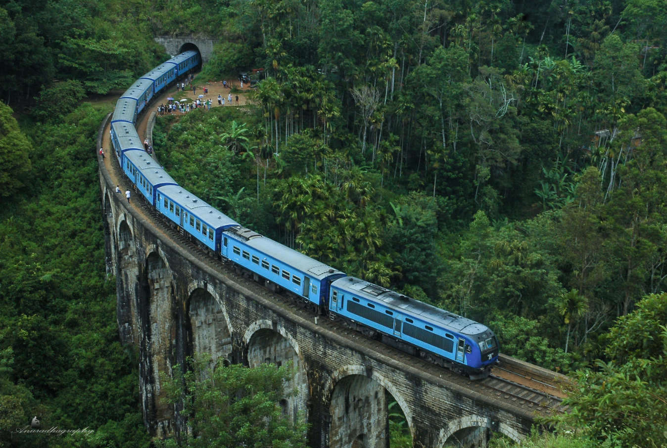 nine bridge arch, sri lanka